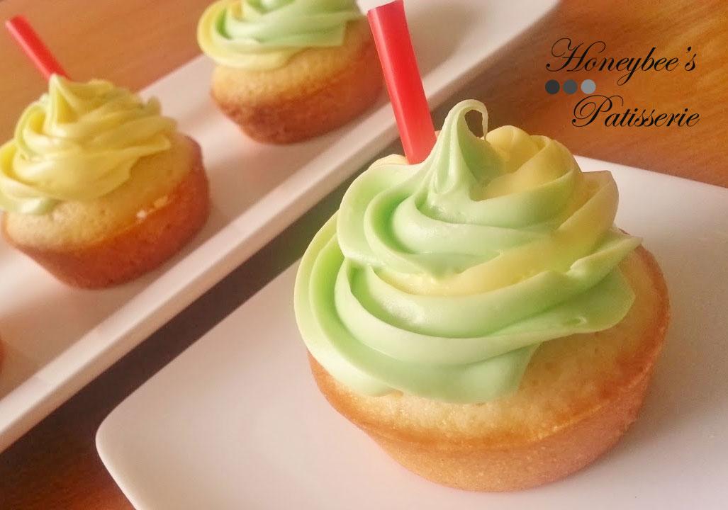 Mini 7UP Pound Cakes | Honeybee's Patisserie
